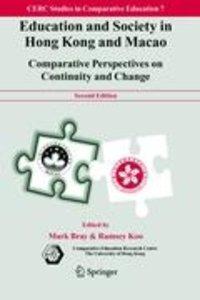 Education and Society in Hong Kong and Macao