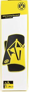 snakebyte BVB-Gaming Mauspad, Übergröße (36x28cm), schwarz/gelb
