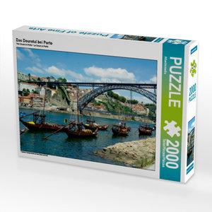 Das Dourotal bei Porto 2000 Teile Puzzle quer