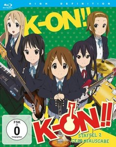 K-ON! - 2. Staffel - Gesamtausgabe (3 Blu-rays)