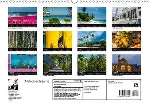 Malediventräume (Wandkalender 2019 DIN A3 quer)