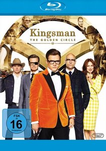 Kingsman: The Golden Circle, 1 Blu-ray
