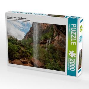 CALVENDO Puzzle Emerald Pools - Zion Canyon 2000 Teile Lege-Größ
