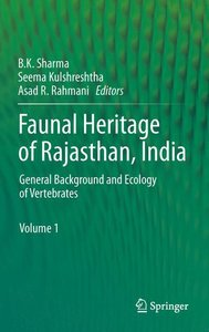 Faunal Heritage of Rajasthan, India
