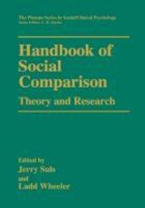 Handbook of Social Comparison