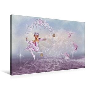 Premium Textil-Leinwand 75 cm x 50 cm quer Magisches Wasser