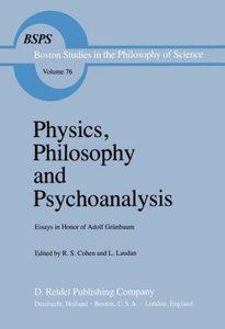 Physics, Philosophy and Psychoanalysis