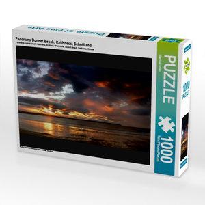 Panorama Dunnet Beach, Caithness, Schottland 1000 Teile Puzzle q