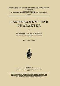 Temperament und Charakter