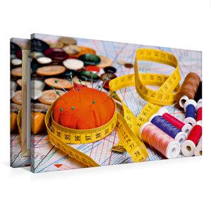 Premium Textil-Leinwand 75 cm x 50 cm quer Material zum Nähen