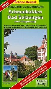 Schmalkalden, Bad Salzungen und Umgebung 1 : 35 000 Radwander- u