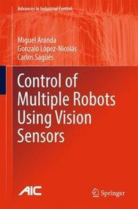 Control of Multiple Robots Using Vision Sensors