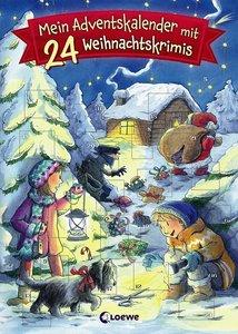 Mein Adventskalender mit 24 Weihnachtskrimis