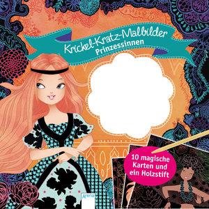 Kritzel-Kratzel-Malbilder. Prinzessinnen