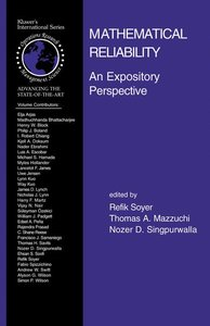 Mathematical Reliability: An Expository Perspective