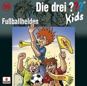 Die drei ??? Kids 59: Fußballhelden (Audio-CD)