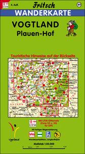 Vogtland 1 : 50 000. Fritsch Wanderkarte
