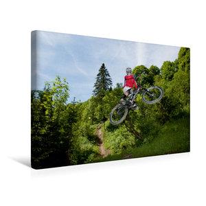 Premium Textil-Leinwand 45 cm x 30 cm quer Les Gets/France