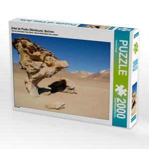 CALVENDO Puzzle Árbol de Piedra (Steinbaum), Bolivien 2000 Teile