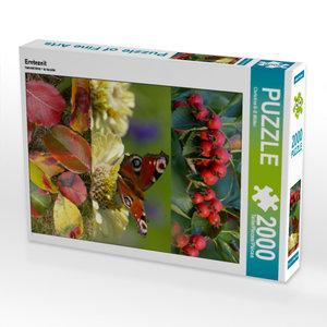 CALVENDO Puzzle Erntezeit 2000 Teile Lege-Größe 67 x 90 cm Foto-