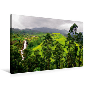 Premium Textil-Leinwand 75 cm x 50 cm quer Sri Lanka Highlands W