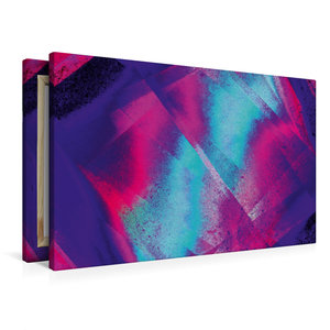Premium Textil-Leinwand 90 cm x 60 cm quer Verwoben