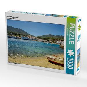 Strand Cadaques 1000 Teile Puzzle quer