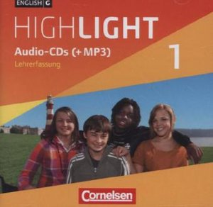 English G Highlight 01: 5. Schuljahr. Audio-CDs Hauptschule