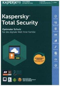 Kaspersky Total Security (FFP), 1 Code in a Box