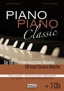 Piano Piano Classic mittelschwer mit 3 CDs