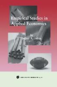 Empirical Studies in Applied Economics