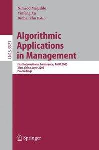 Algorithmic Applications in Management