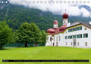 St. Bartholomä und der Königssee (Tischkalender 2020 DIN A5 quer