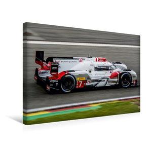 Premium Textil-Leinwand 45 cm x 30 cm quer Audi R18 e-tron quatt