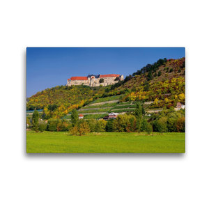 Premium Textil-Leinwand 45 cm x 30 cm quer Schloss Neuenburg