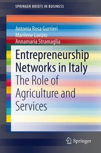 Entrepreneurship Networks in Italy