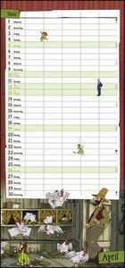 Pettersson und Findus Familienplaner Kalender 2020