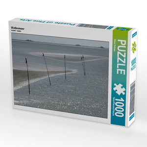 Wattenmeer 1000 Teile Puzzle quer