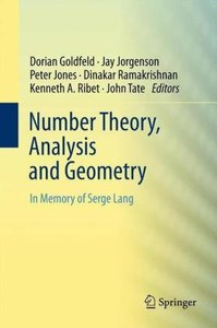 Number Theory, Analysis and Geometry