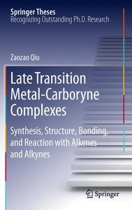 Late Transition Metal-Carboryne Complexes