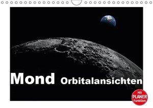 Mond Orbitalansichten (Wandkalender 2019 DIN A4 quer)