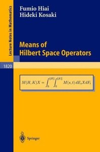 Means of Hilbert Space Operators