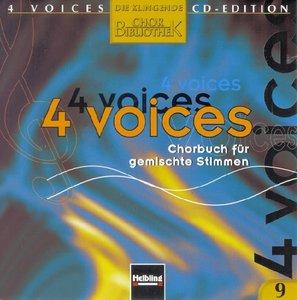4 voices - CD Edition. Die klingende Chorbibliothek. CD 9. 1 Aud