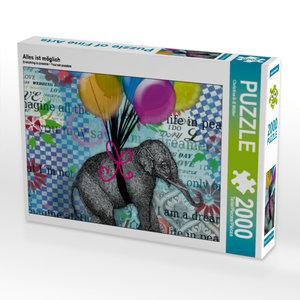 Alles ist möglich 2000 Teile Puzzle quer
