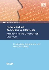 Fachwörterbuch Architektur und Bauwesen