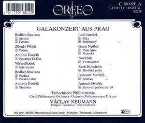 Tschechische Tänze aus Oper und Operette