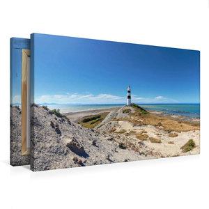 Premium Textil-Leinwand 75 cm x 50 cm quer Cape Campbell Lightho