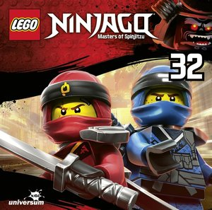LEGO Ninjago. Tl.32, 1 Audio-CD