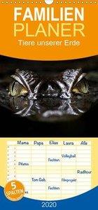Tiere unserer Erde - Familienplaner hoch
