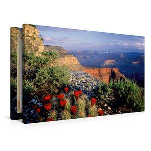 Premium Textil-Leinwand 90 cm x 60 cm quer Blick auf den Grand C
